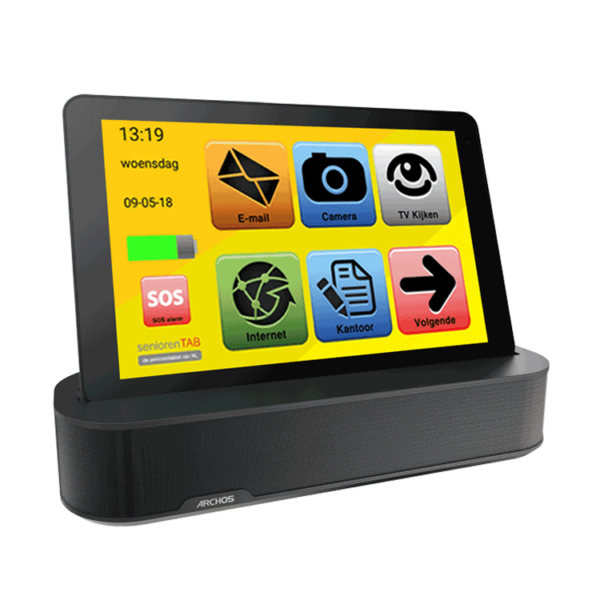 Senioren Tablet Sounddock
